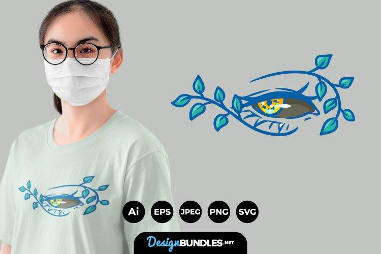 Evil Eye for T-Shirt Design example image 1