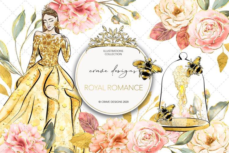 Royal Romance Clip Art