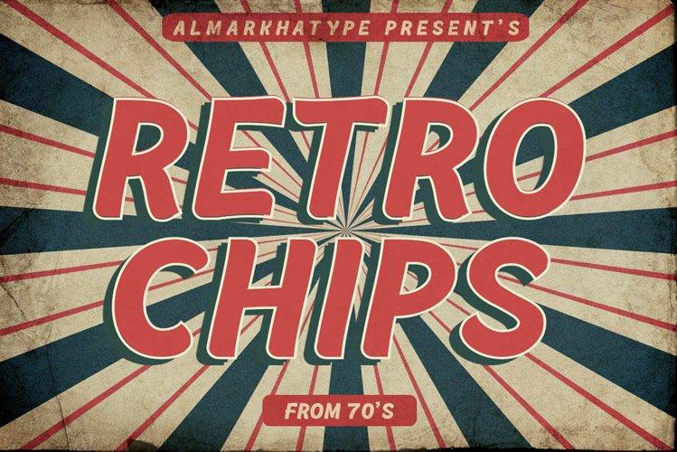 Retrochips - Display Vintage example image 1