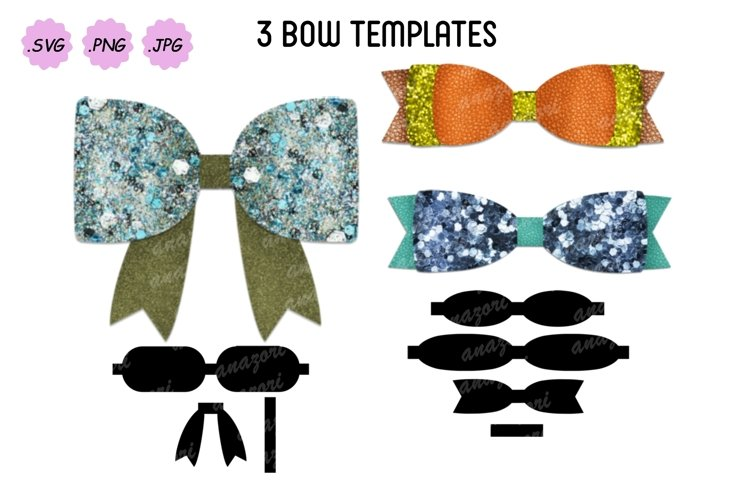 Bow Cut File, DIY Leather Hair Accessories example image 1