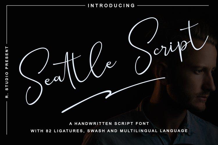 Seattle Script example image 1