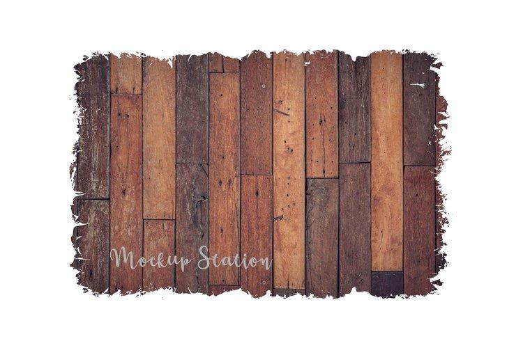 Wood Sublimation Background PNG Bundle, Frame Clip Art Splat - Free Design of The Week Design2