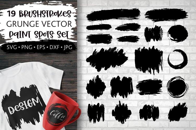 Paint Brush stroke SVG, Grunge Brush strokes Backgrounds PNG