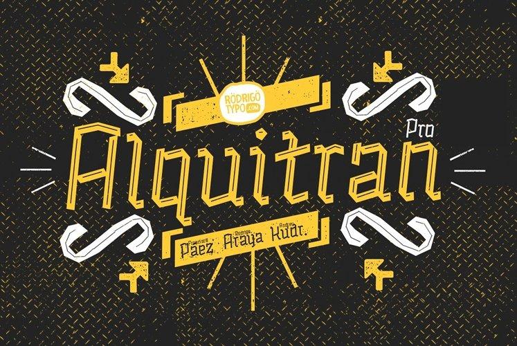 Alquitran Pro example image 1