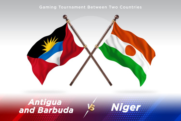Antigua vs Niger Two Flags example image 1