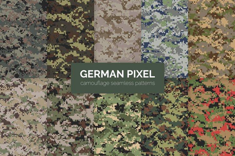 German Pixel Camouflage Patterns example image 1