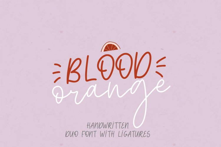 Blood Orange Duo example image 1