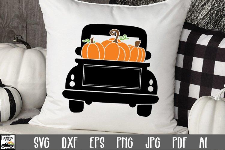 Halloween Truck SVG Cut File | Halloween SVG File