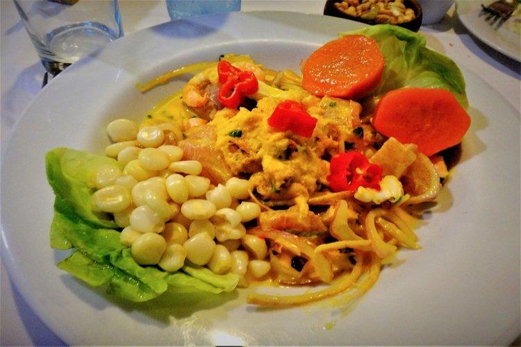 Tasty food from Peru