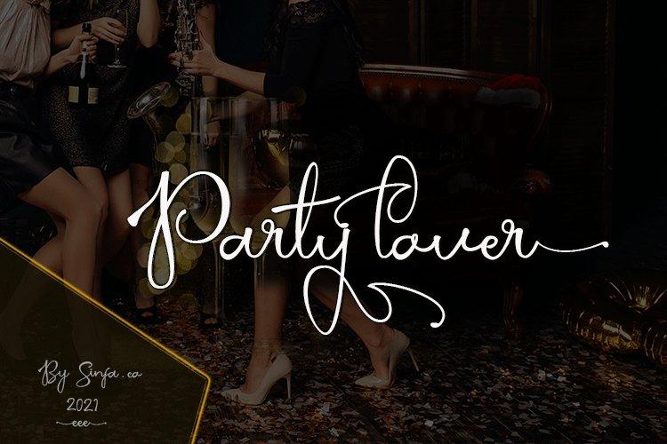 Party lover example image 1
