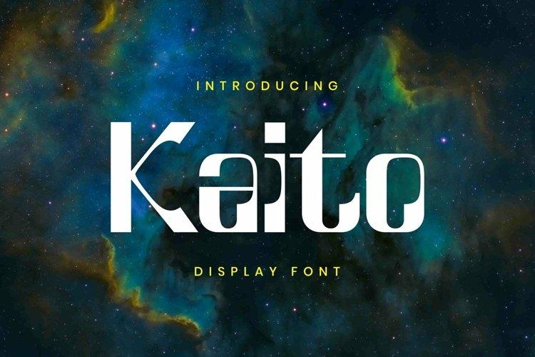 Web Font Kaito Font example image 1