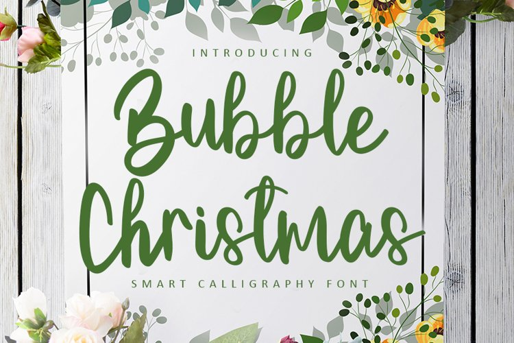 Bubble Christmas example image 1
