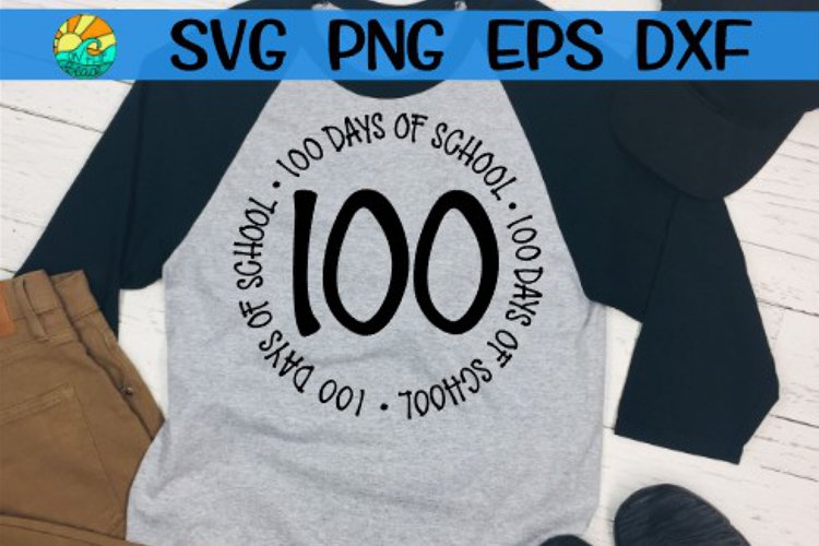 100 Days Squad - Arrow - SVG PNG EPS DXF