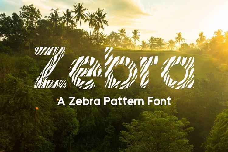 Zebra example image 1