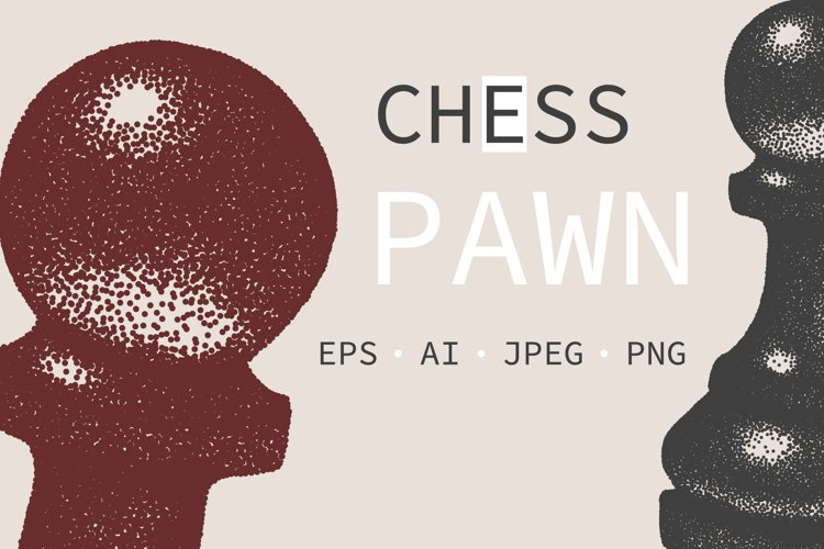 CHESS Pawn Vector example image 1