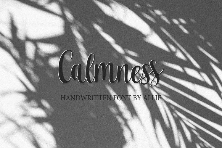 Calmness example image 1
