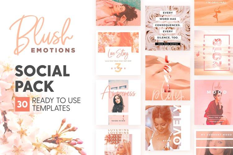 Blush Emotions - Social Pack