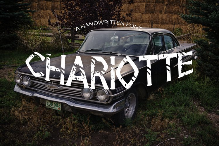 Chariotte Vintage Font example image 1