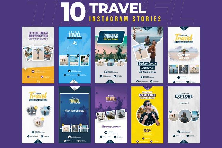 Travel 10 Instagram Stories