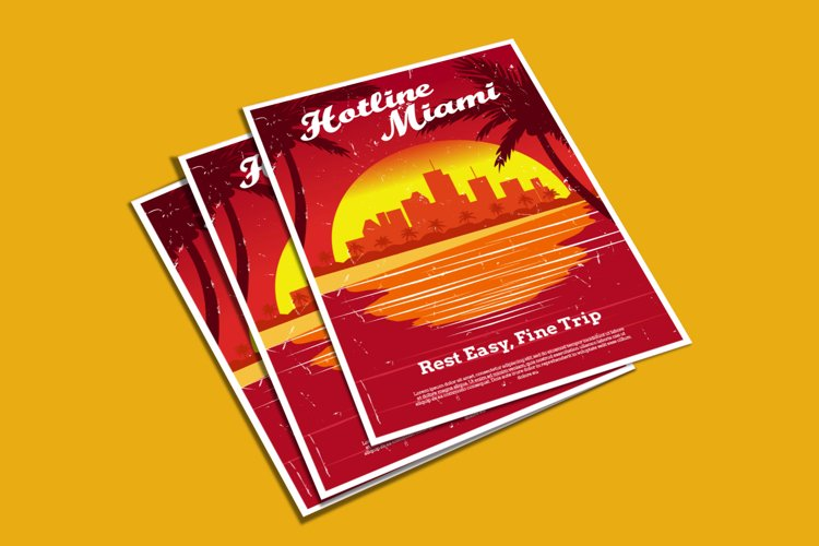 Hotline Miami Flyer example image 1