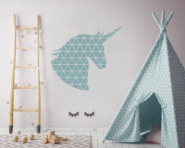 Geometric Unicorn SVG illustration | Geometric Animals SVG example 3