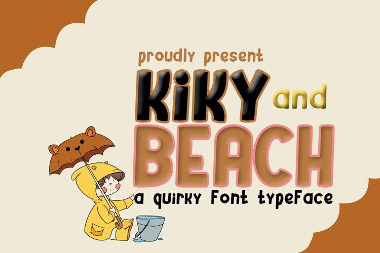 Kiky and Beach example image 1