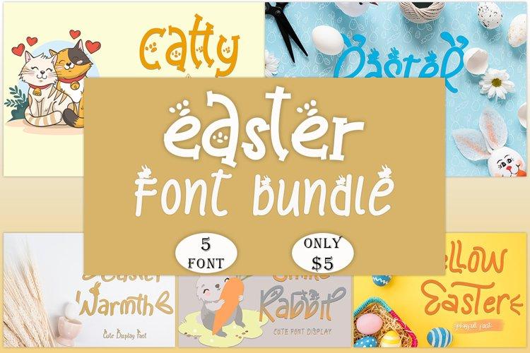 Easter Font Bundle example image 1
