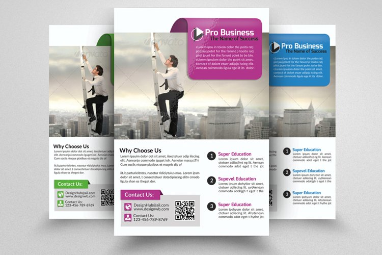 Corporate Strategy Business Flyer example image 1