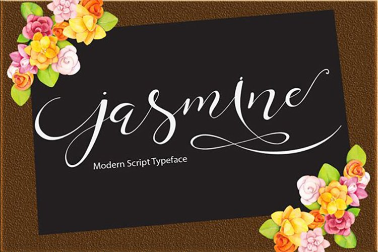 Web Font Jasmine example image 1
