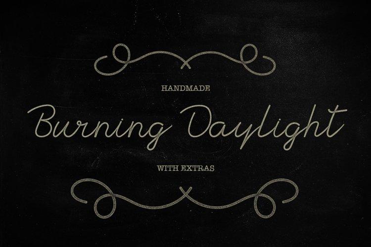 Burning Daylight example image 1