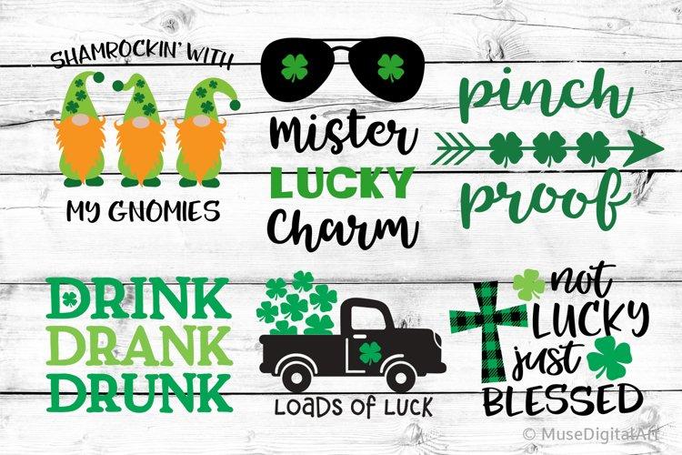 Boy St Patricks Day Bundle Svg, Kids St Patricks Svg File