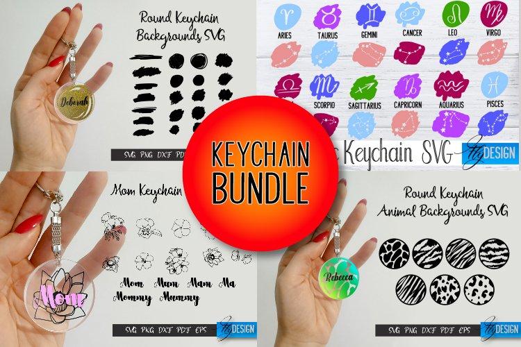 Keychain Bundle. Zodiac SVG. Background. Flowers. Animals