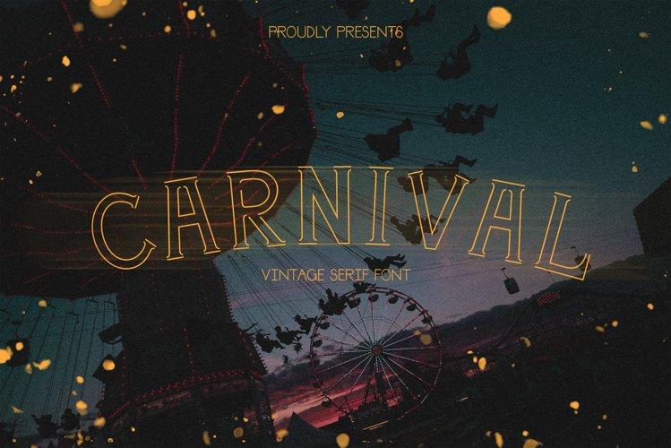 Carnival | a festival serif example image 1