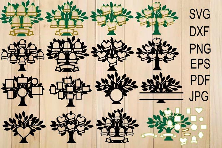 Family Tree SVG, Trees, Tree Cut File, Family Tree Clipart