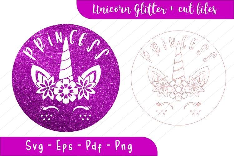 Unicorn svg, unicorn princess, unicorn glitter, stamp - Free Design of The Week Font