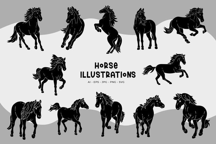 Horse Illustrations