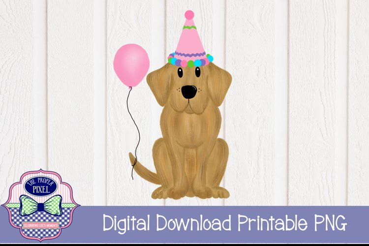 Birthday Girl Puppy example image 1