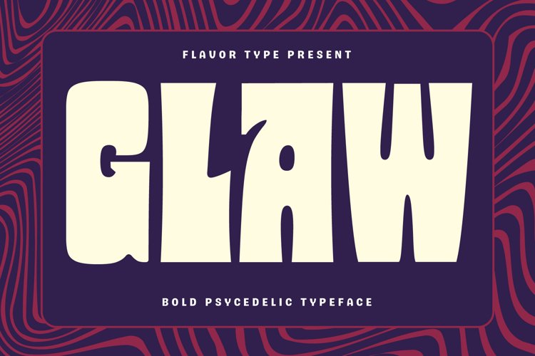 Glaw - Variable Fonts example image 1