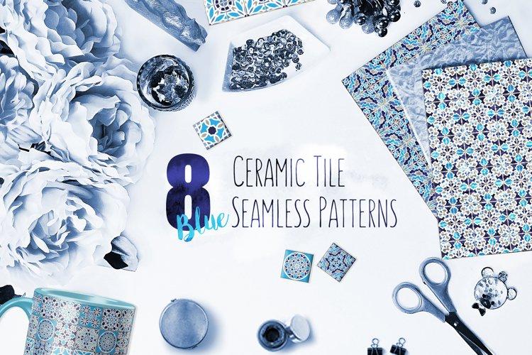 Ceramic Tile Seamless Patterns
