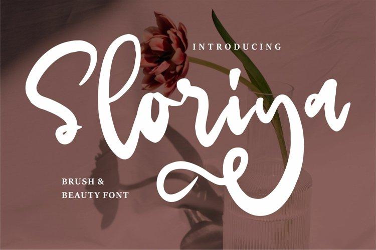 Sloriya - Brush & Beauty Font example image 1
