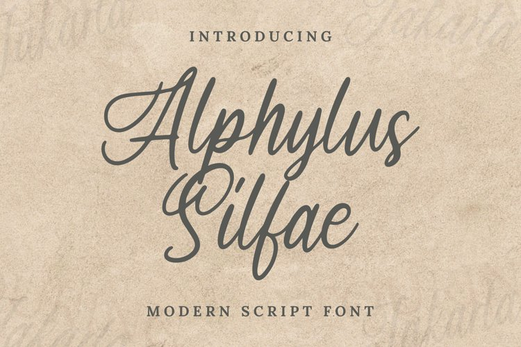 Arphylus Silfae Font