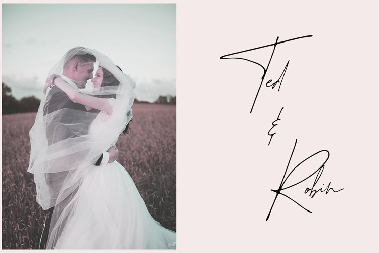 Juliette - Stylish Handwritten Signature Font example 3