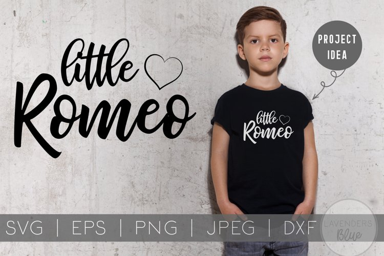 Cuter than Cupid and Little Romeo | Kids Valentines Day SVG example image 1