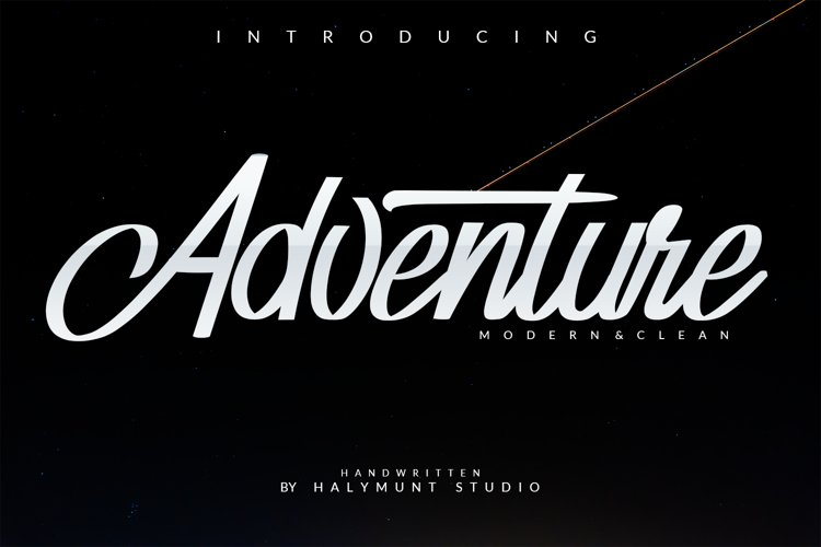 Adventure Typeface example image 1