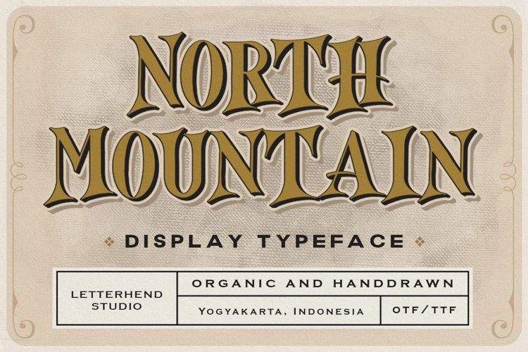 North Mountain - Display Typeface example image 1