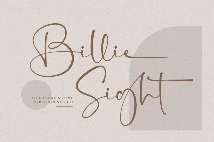 Billie Sight example image 1