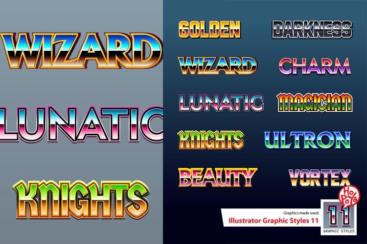 Illustrator Graphic Styles 11