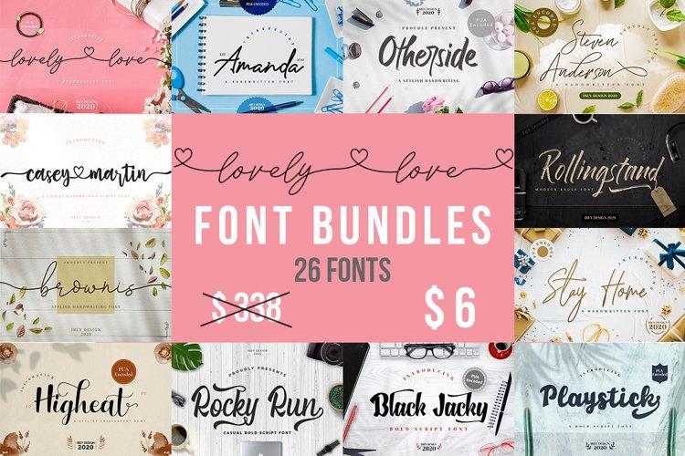 Lovely Font Bundles