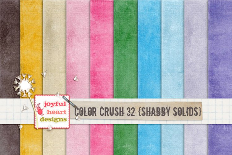 Color Crush 32 {shabby solids} example image 1