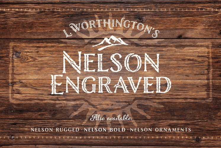 Nelson Engraved example image 1